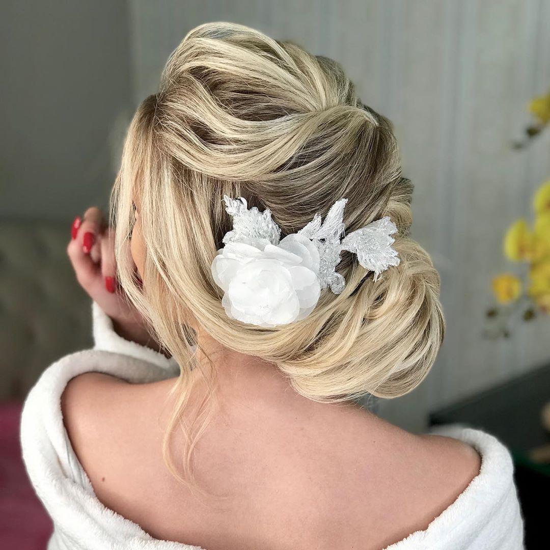 penteado de noiva coque