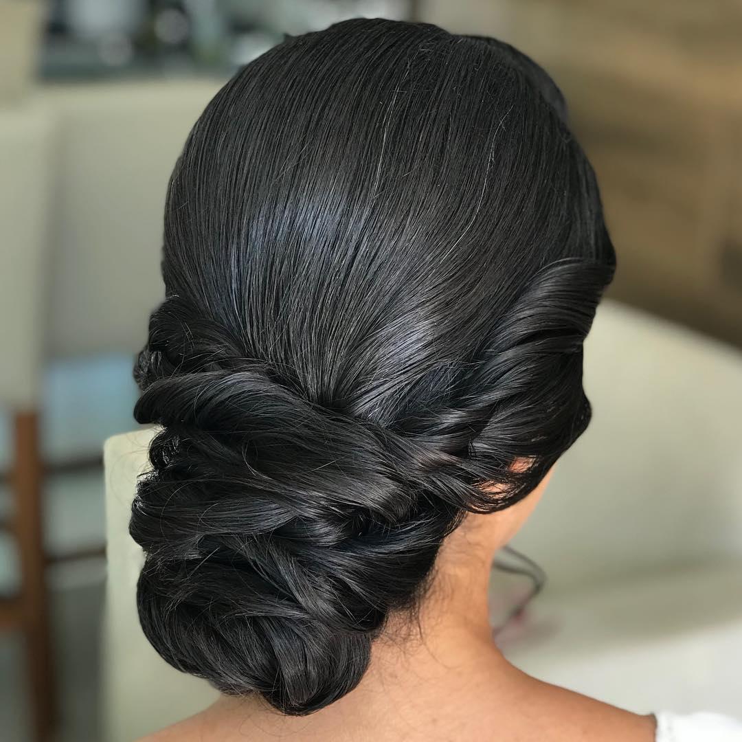 penteado para festa coque