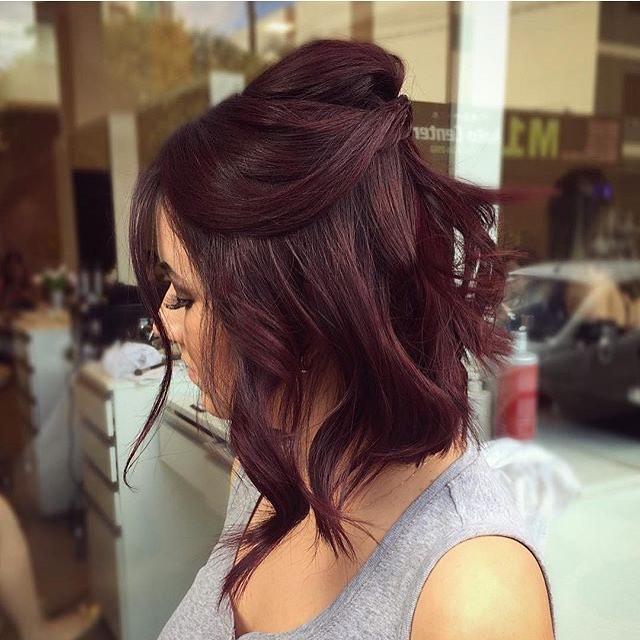 penteados de festa cabelos medios