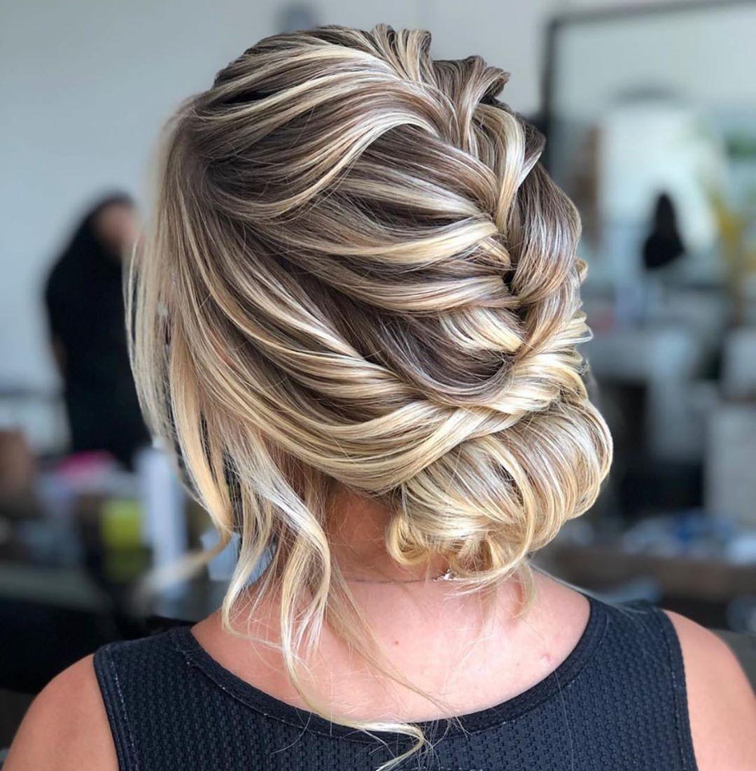 penteados de festa coque