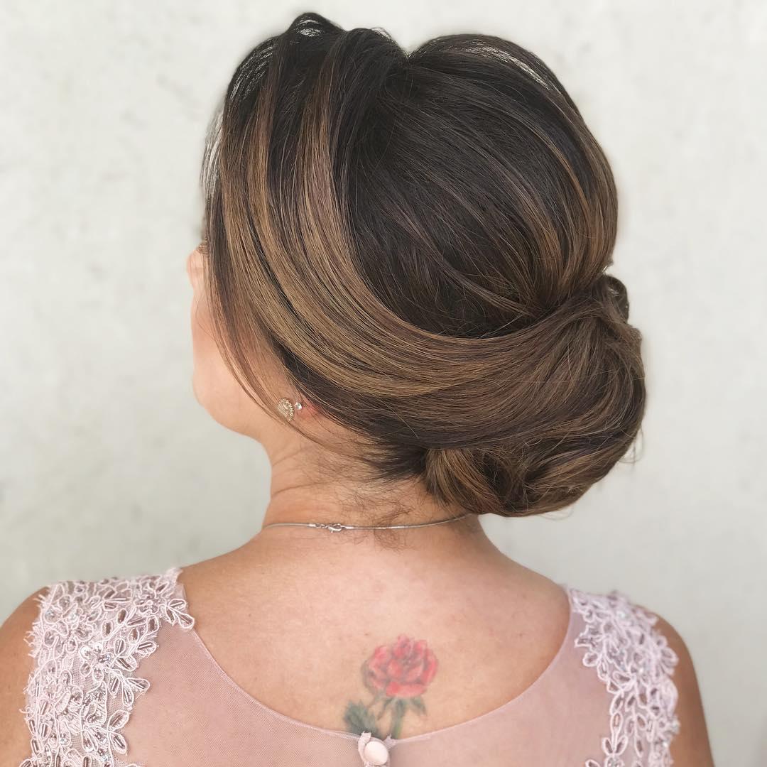 penteados mae da noiva
