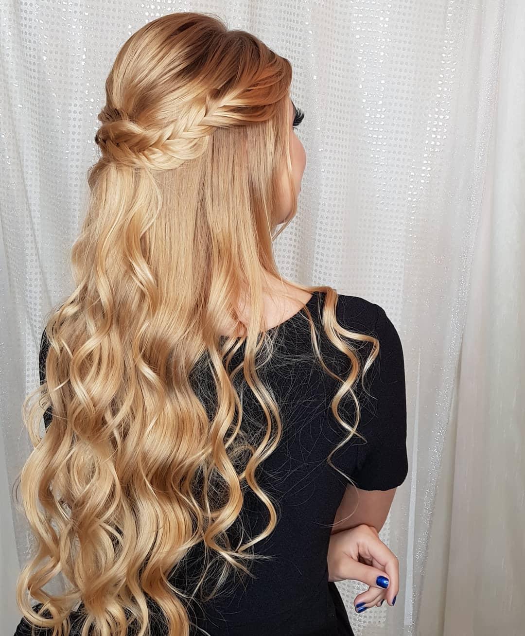penteados para cabelos compridos