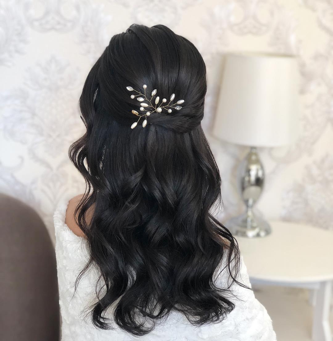 penteados para cabelos medios
