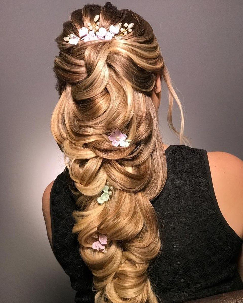 penteados para debutante 1