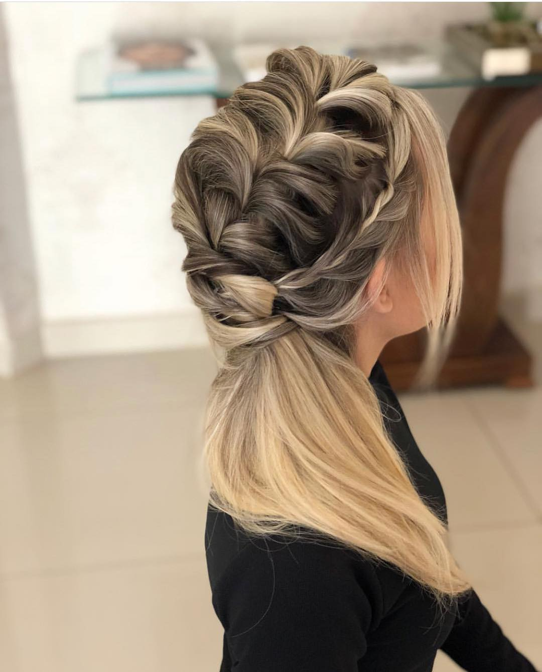 penteados para debutante 2