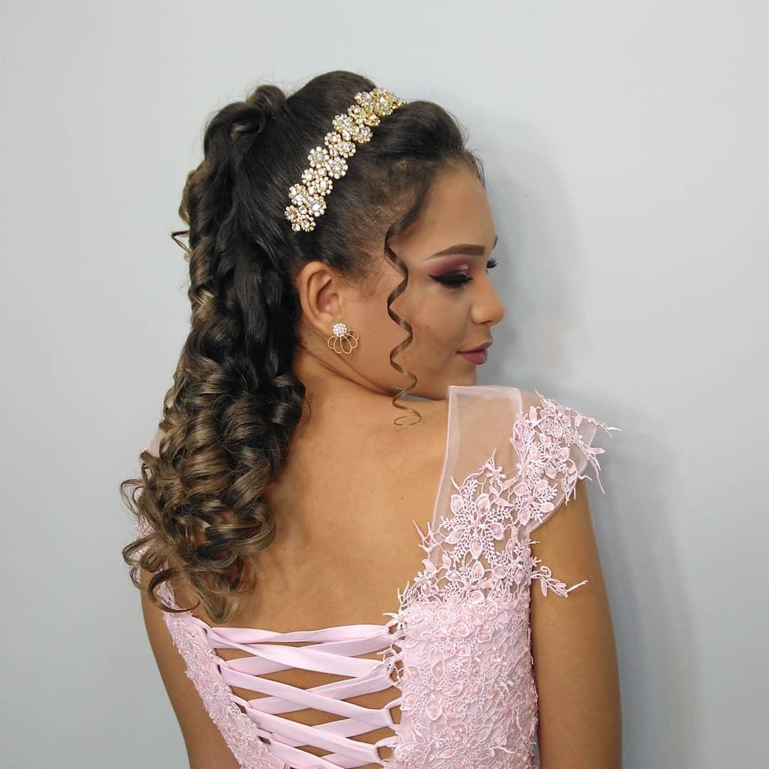 penteados para debutante