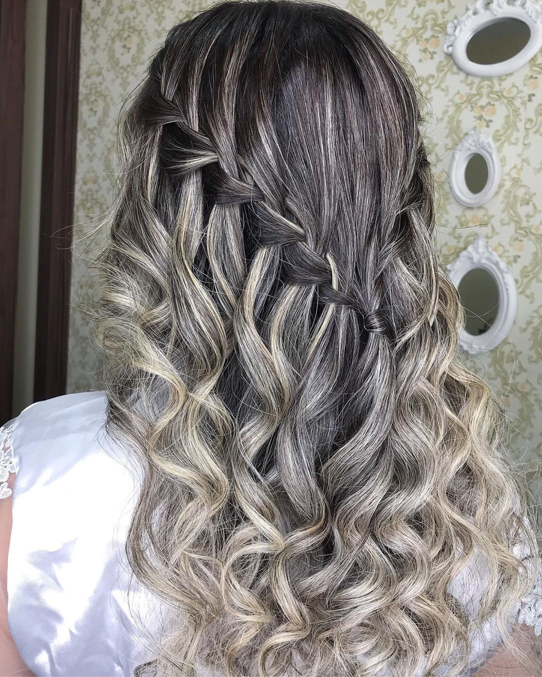 penteados para festa cabelo solto