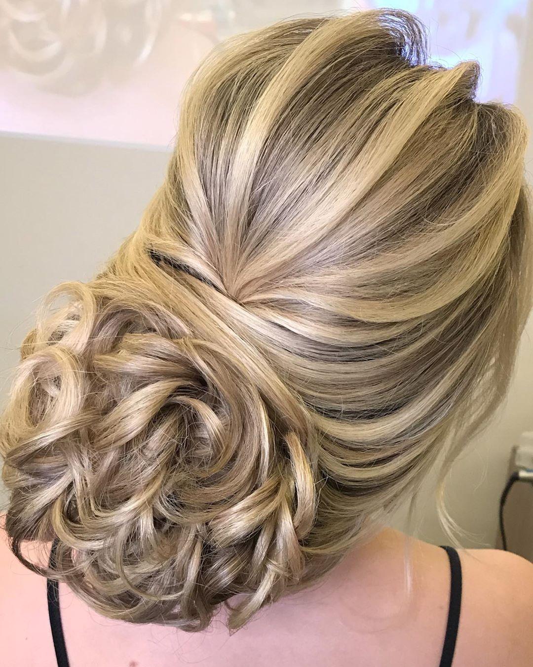 penteados para festa coque 2