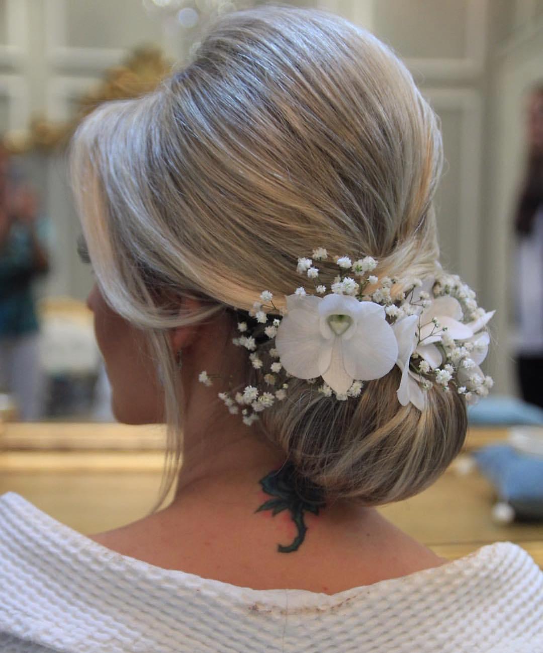penteados para festa noiva
