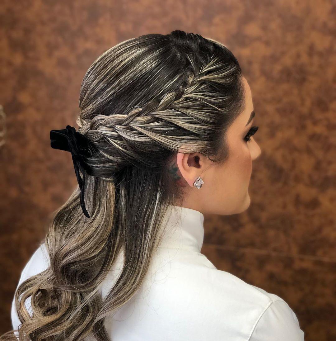 penteados para formandas cabelo medio 4