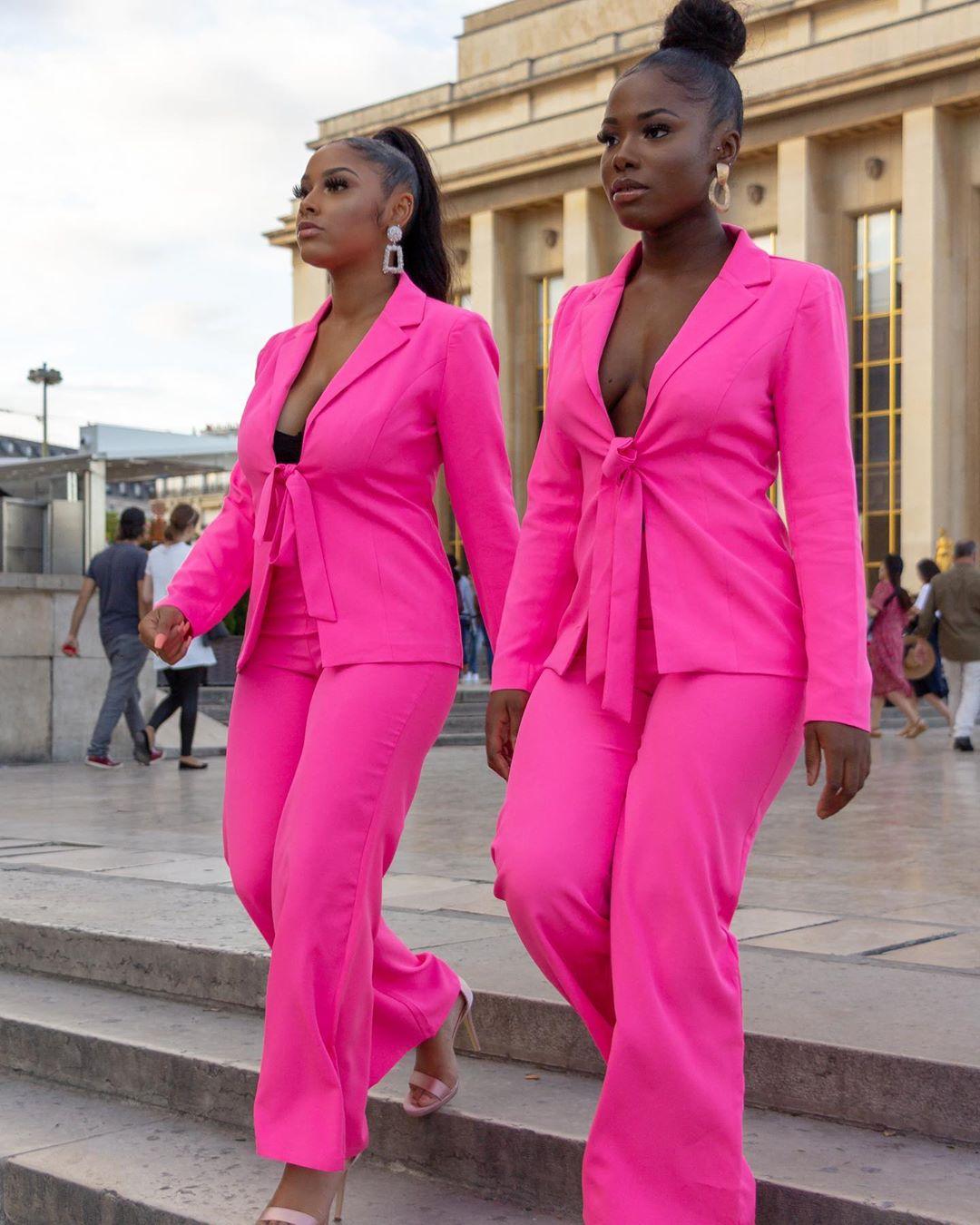 terno alfaiataria pink