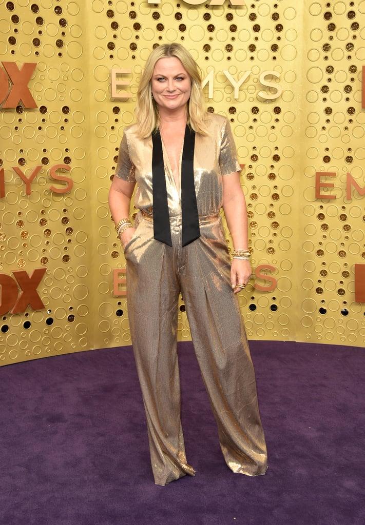 Amy Poehler no Emmy 2019