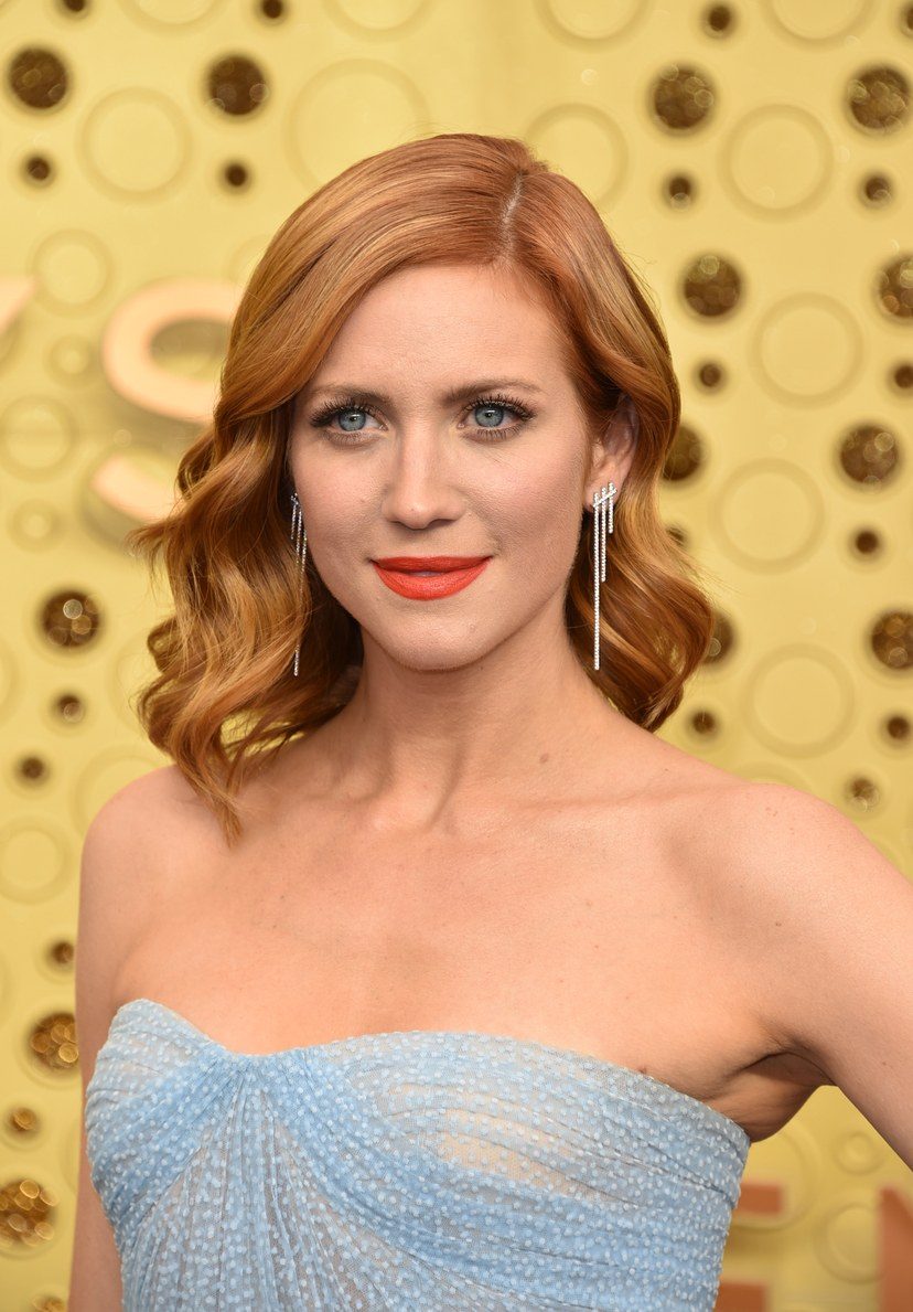Brittany Snow Brinco no  Emmy