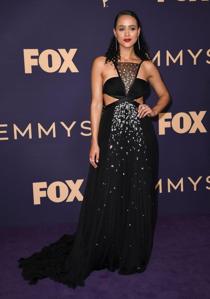Nathalie Emmanuel no Emmy 2019