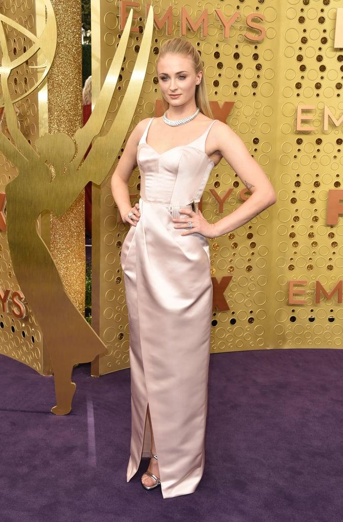 Sophie Turner no Emmy 2019