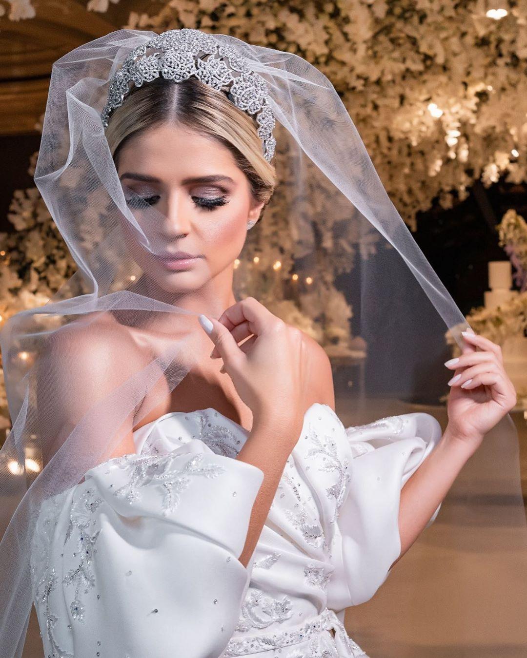 beleza de thassia naves no casamento