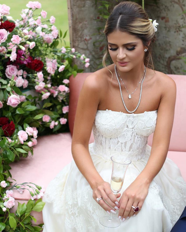 noivado de Thassia Naves joias