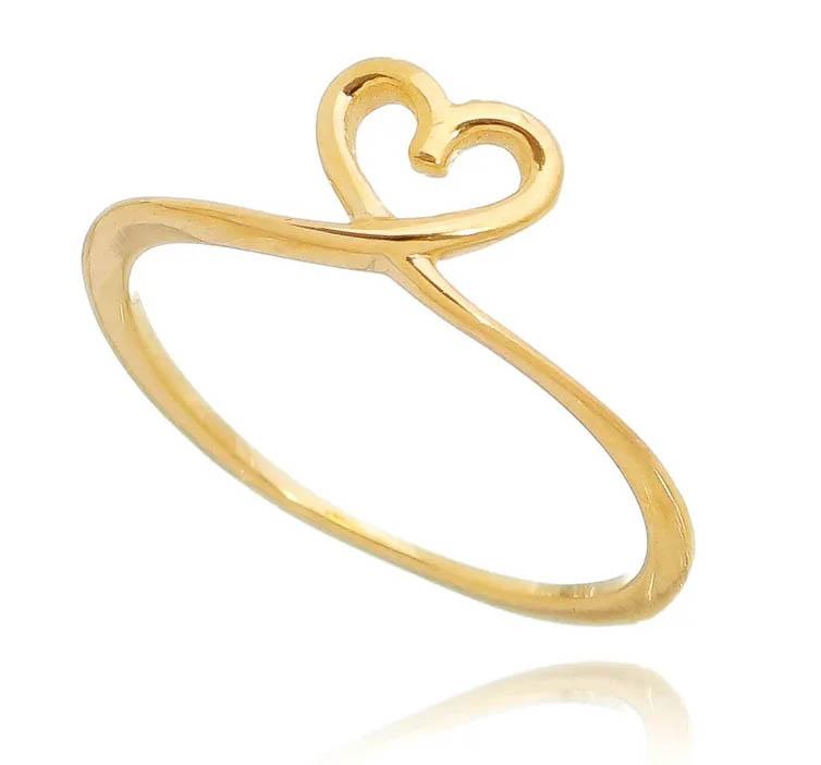 anel de noivado artesanal