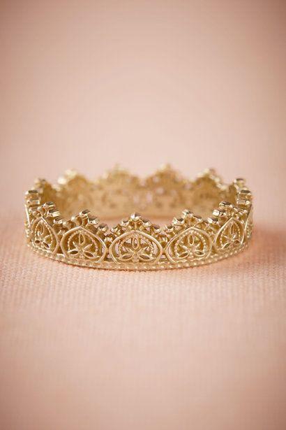 anel de noivado coroa rainha
