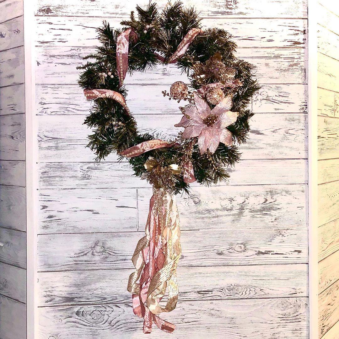 arvore de natal rose