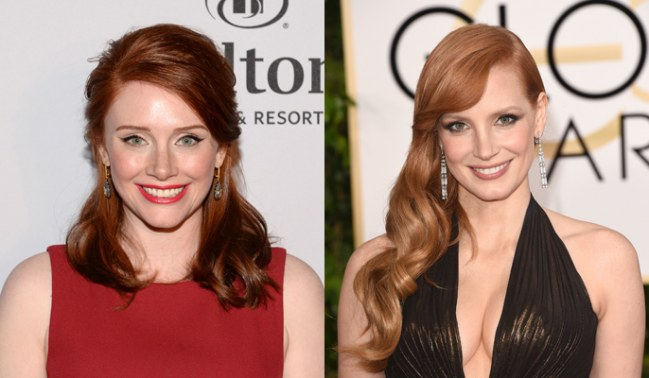 bryce dallas howard e jessica-chastain