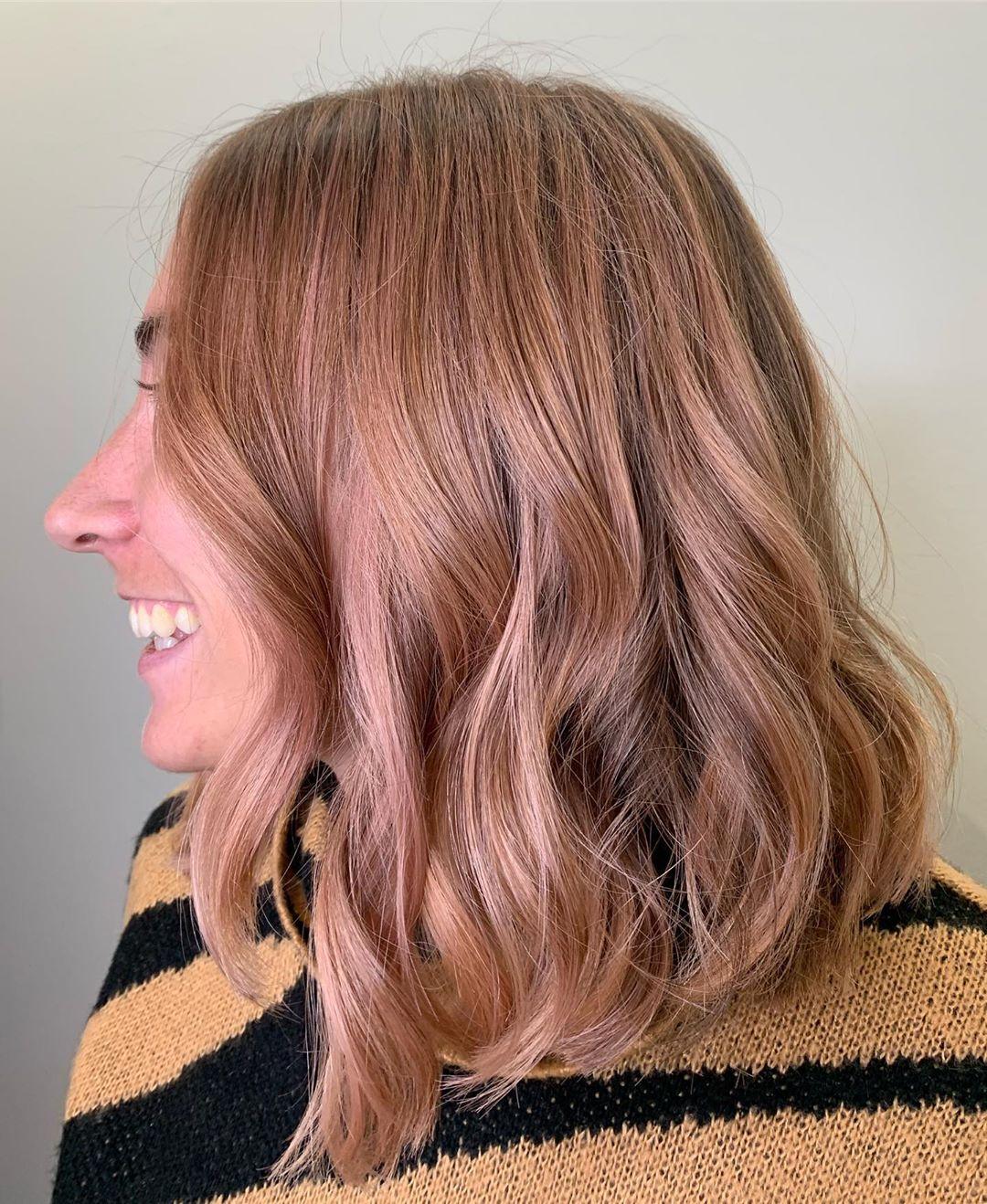 cabelo ouro rose