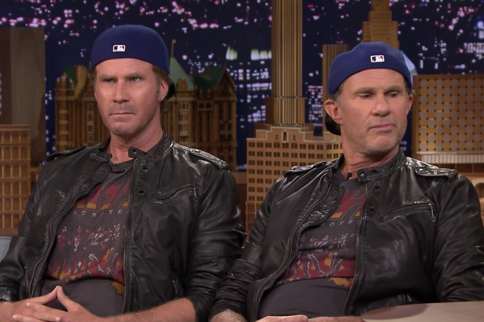 chad smith will ferrell parecidos