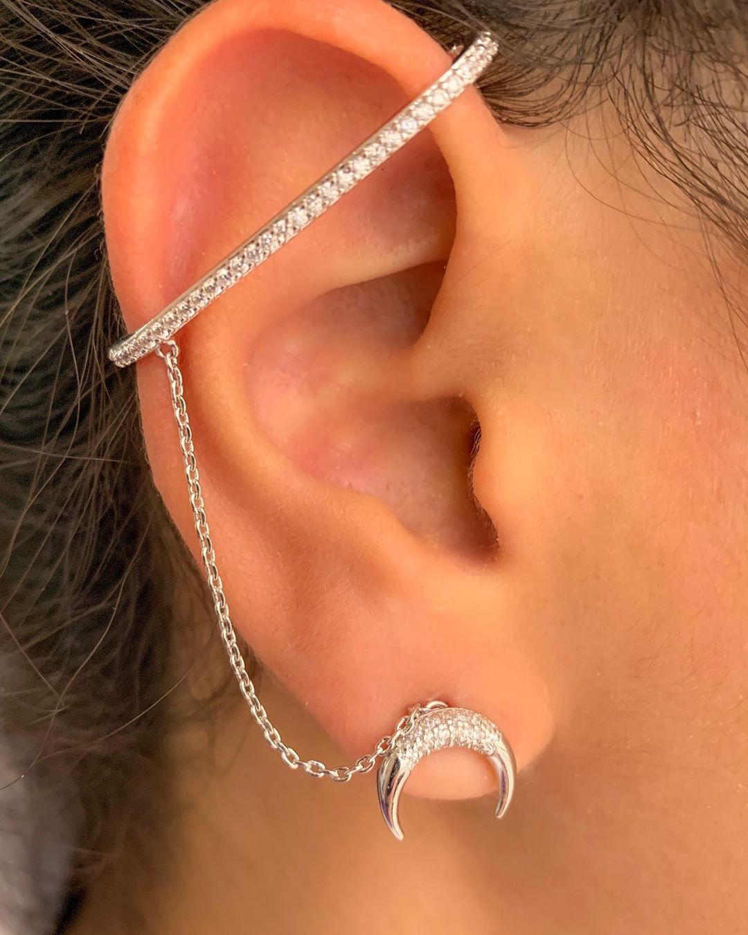 piercing de prata 925