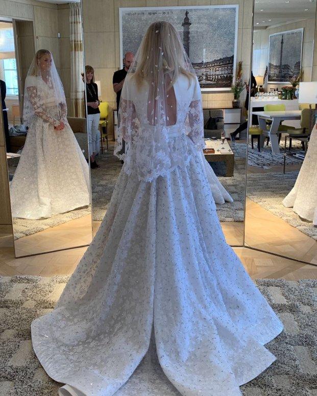 sophie turner vestido de noiva