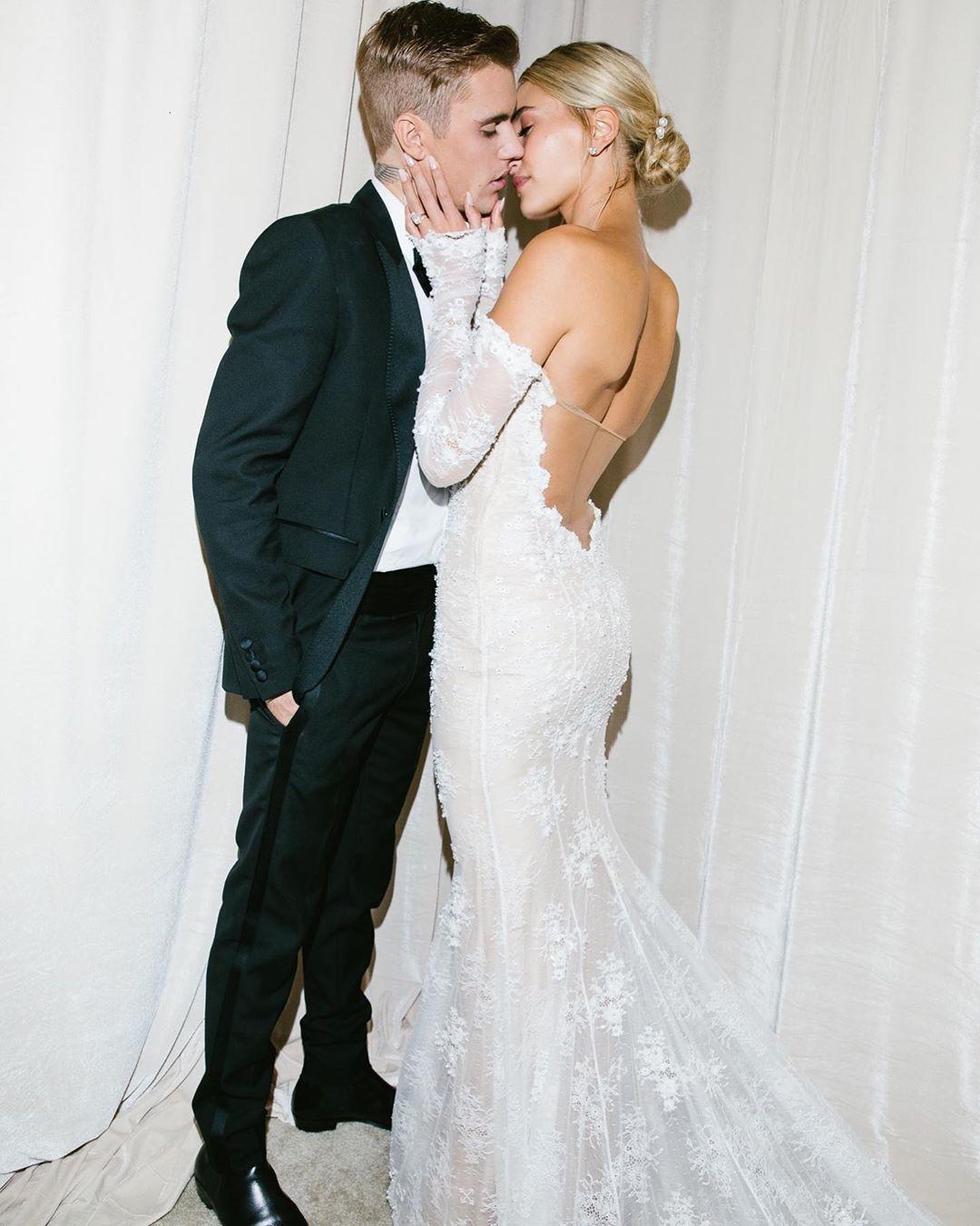 vestido de noiva hailey baldwin