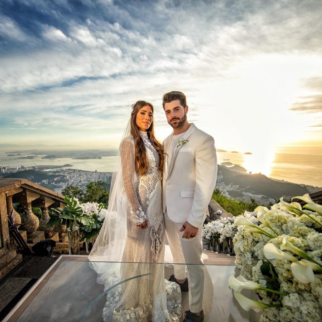 vestido de noiva romana novais