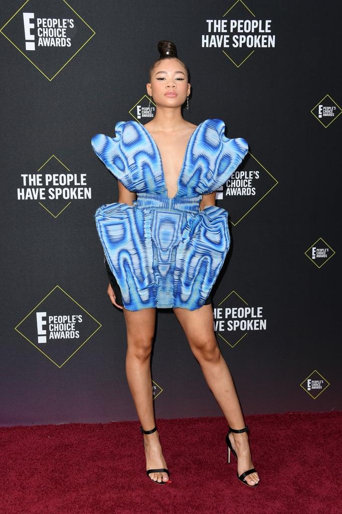 Storm Reid People Choice Awards 2019