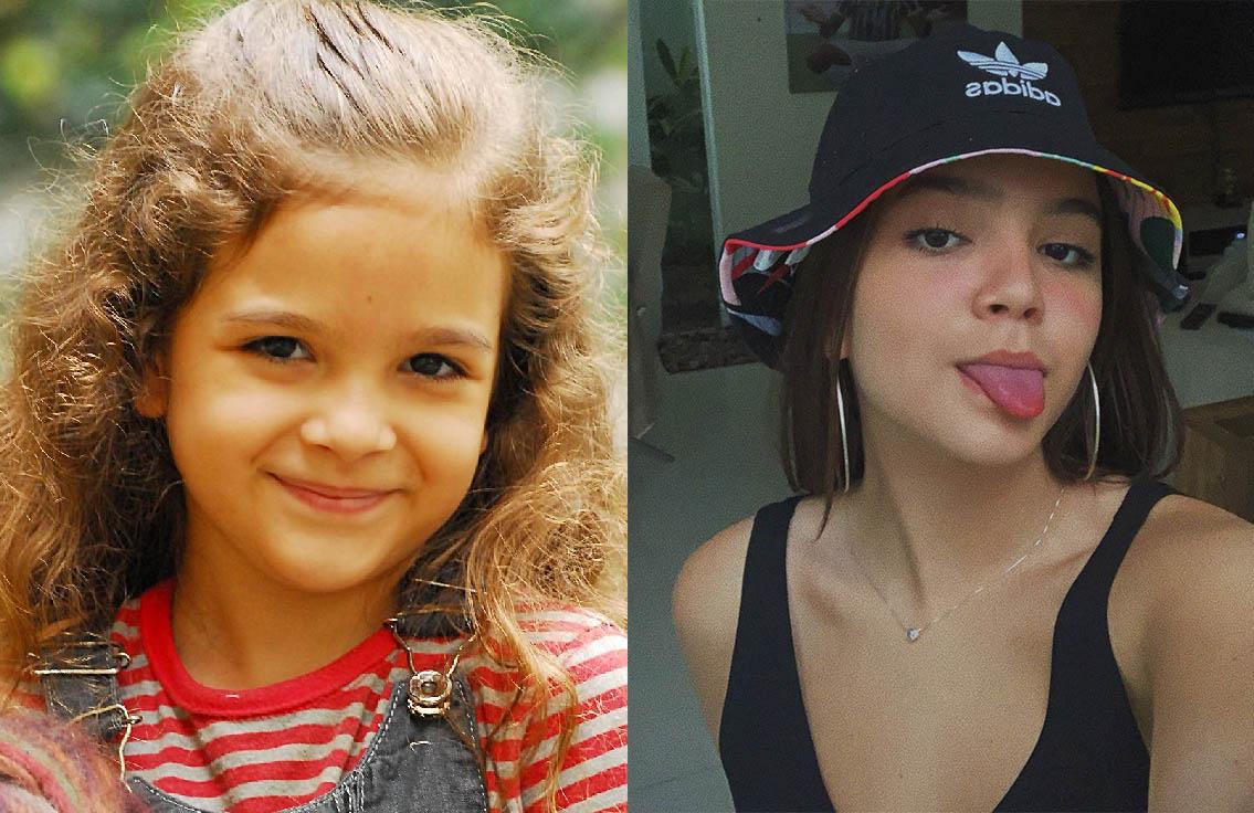 mel maia antes e depois