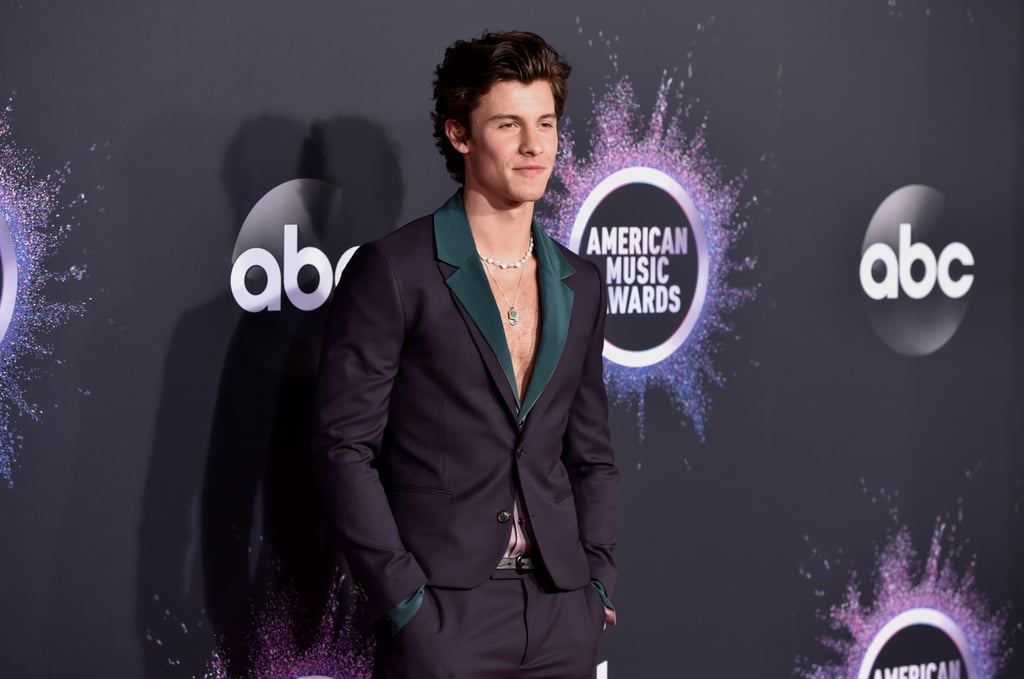shawn mendes suit at american music awards 2019