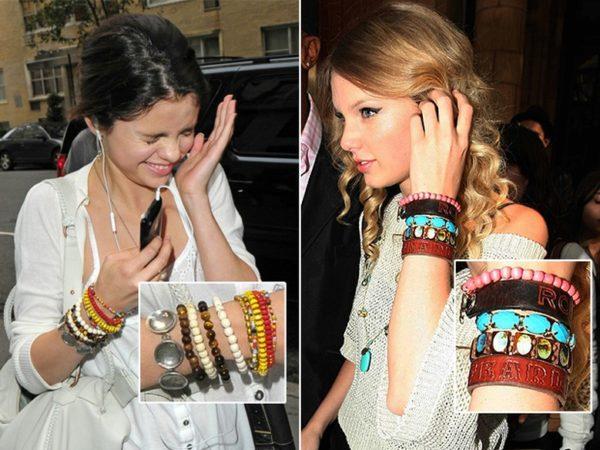 miçanga pulseiras celebridades
