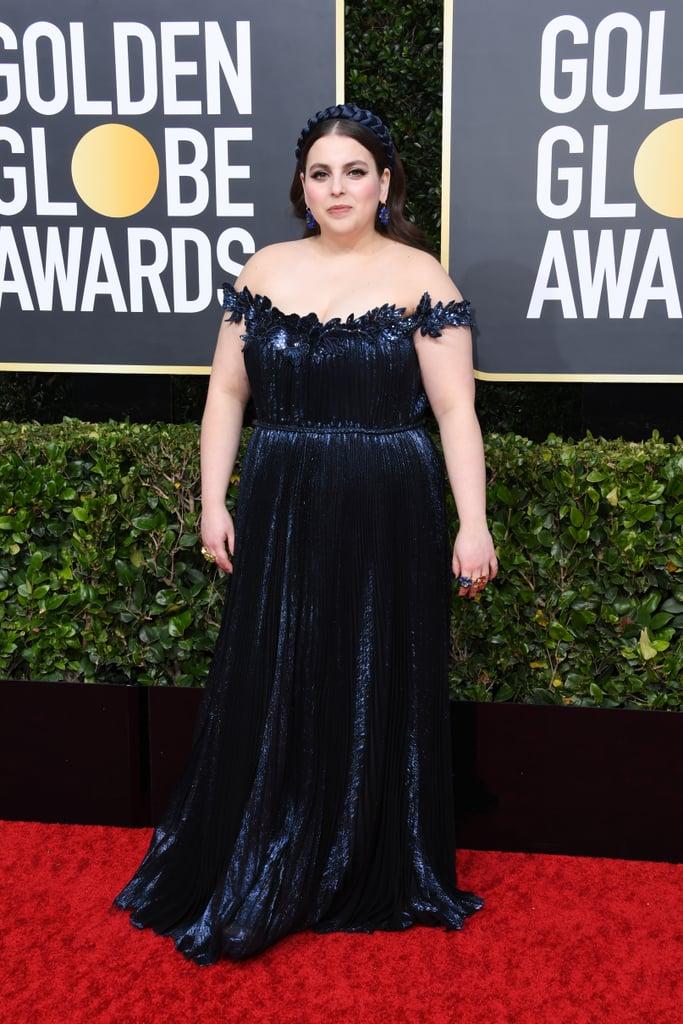 Beanie Feldstein no Globo de Ouro 2020