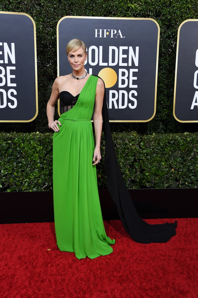 Charlize Theron no Golden Globe 2020