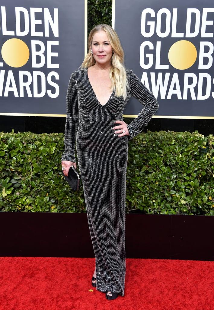 Christina Applegate na Premiação do Globo