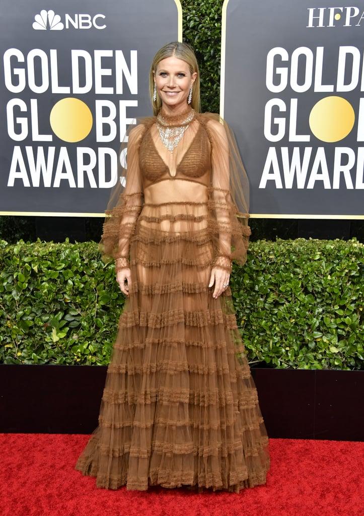 Gwyneth Paltrow no  Golden Globe Awards 2020