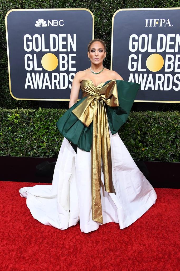 Jennifer Lopez no Golden Globe 2020