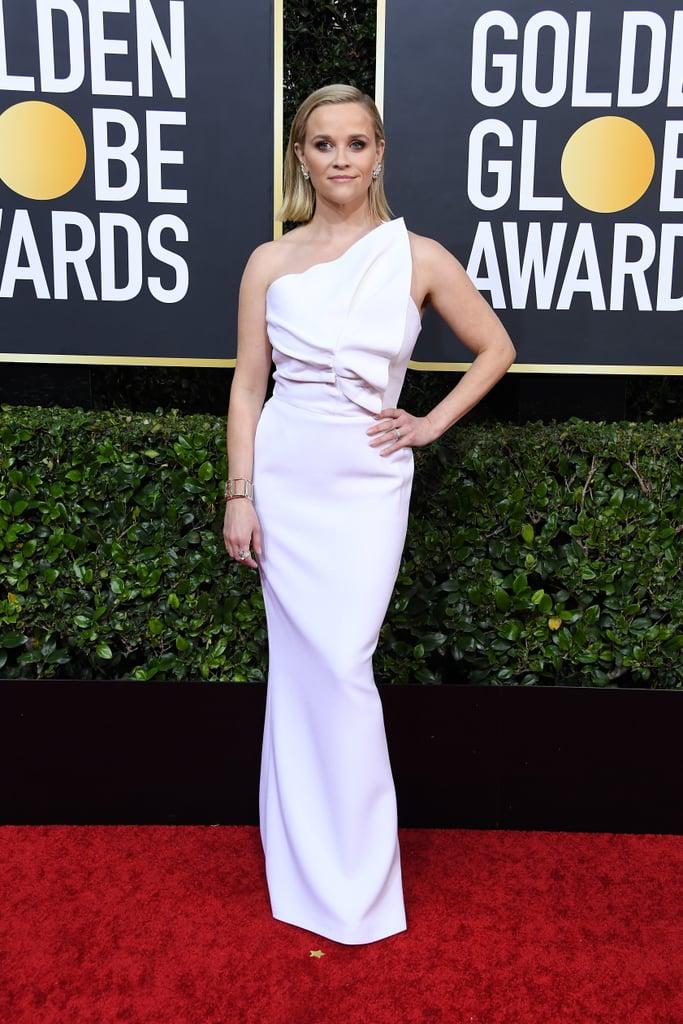 Reese Witherspoon no Globo de Ouro de 2020