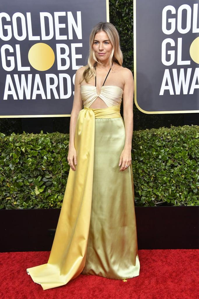 Sienna Miller no Globo de Ouro 2020