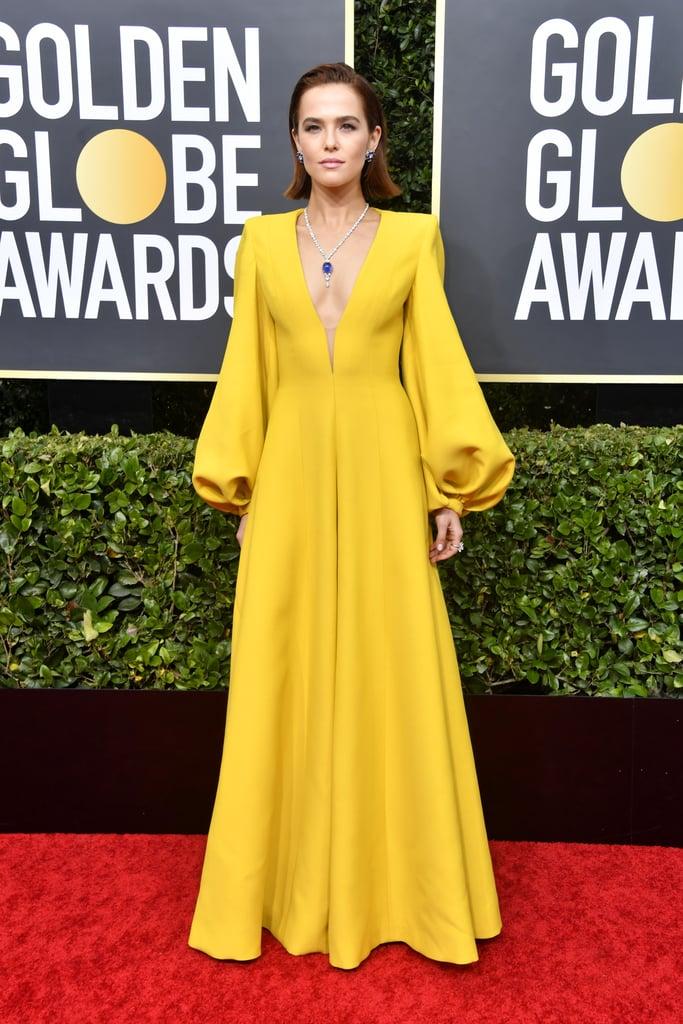 Zoey Deutch no Globo de Ouro 2020