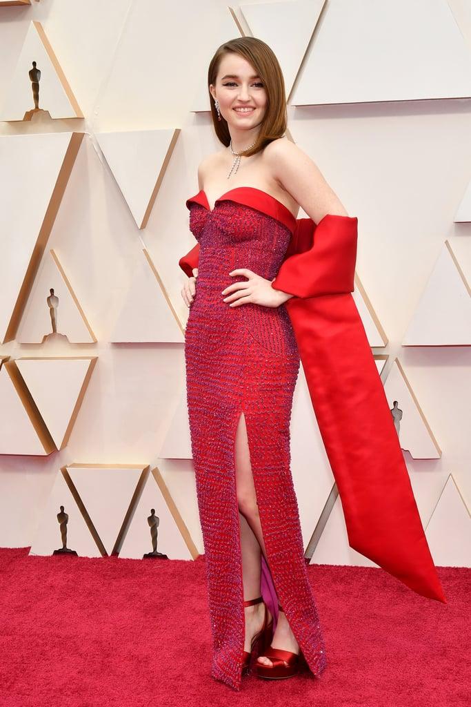 Kaitlyn Dever no Oscar 2020