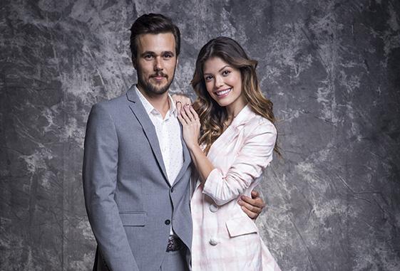 Salve-se Quem Puder / Rafael (Bruno Ferrari) e Kyra (Vitória Strada)