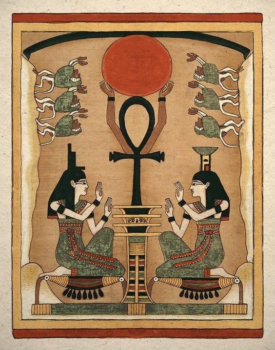 Cruz Egípcia - Cruz Ansata - Ankh