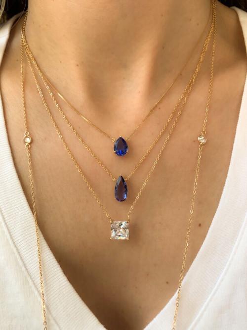 Vários modelos de colar da Waufen semi joias